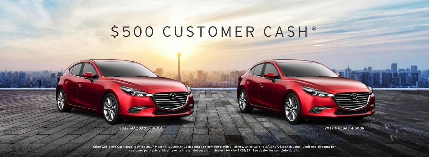 Mazda3 Customer Cash