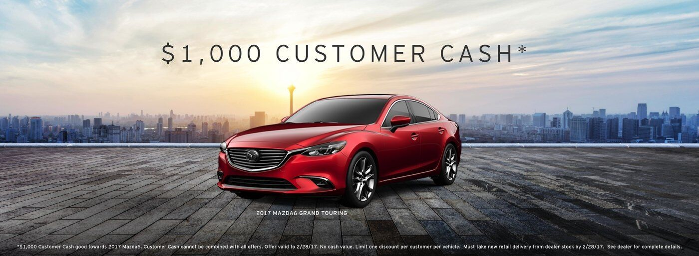Mazda6 Customer Cash