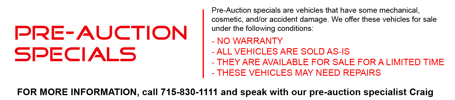 Pre Owned Cars Eau Claire Wisconsin Ken Vance Motors
