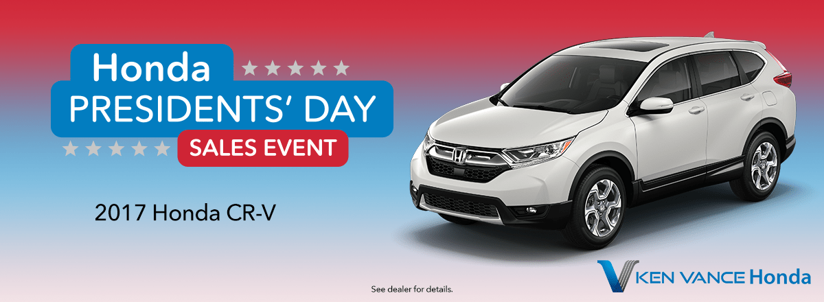 Honda CR-V President Day Sale