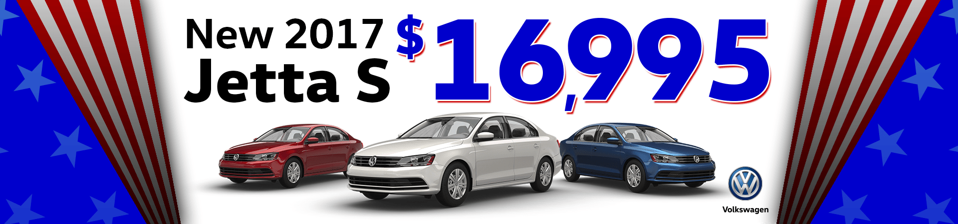 New 2017 Jetta Models Starting at $16995