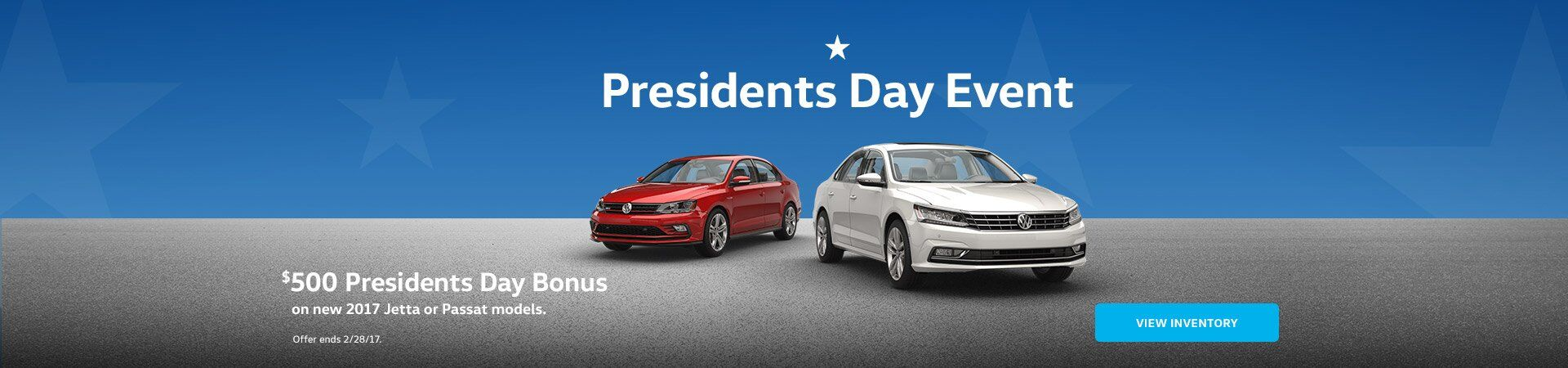 VW Presidents day