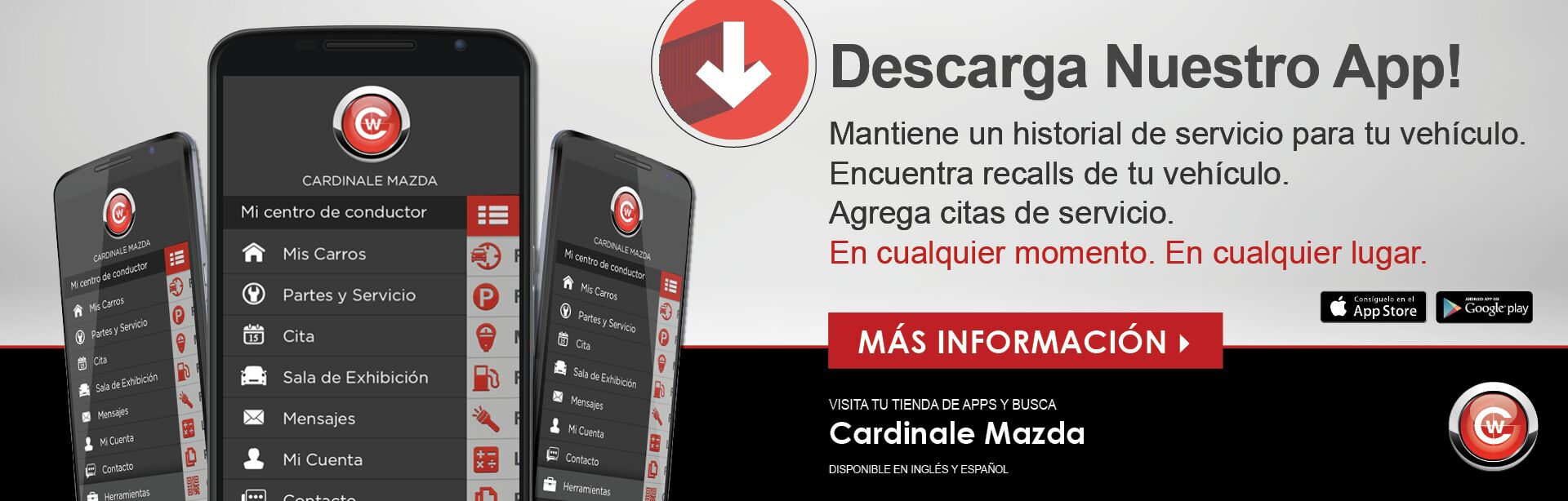 Download Our App Spanish