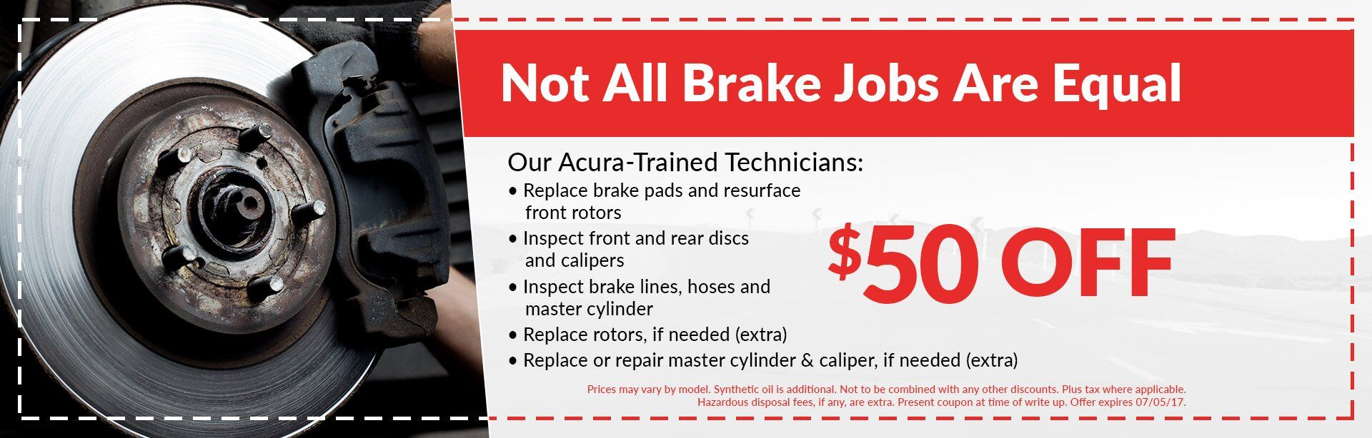 Not All Brake Jobs Are Equal