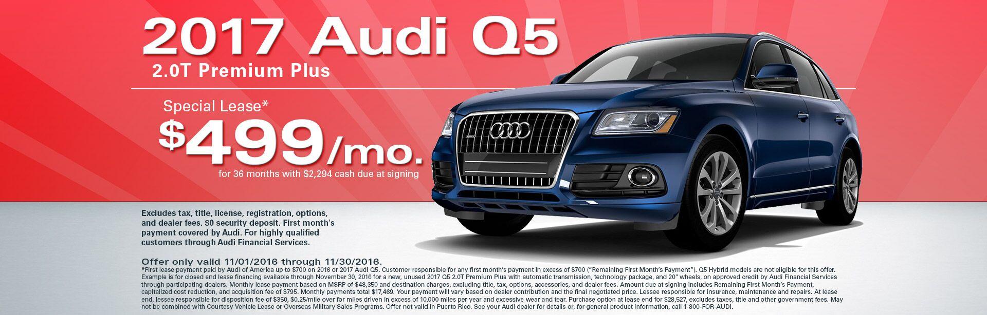 Audi Dealership Seaside New Car Models - Monterey audi