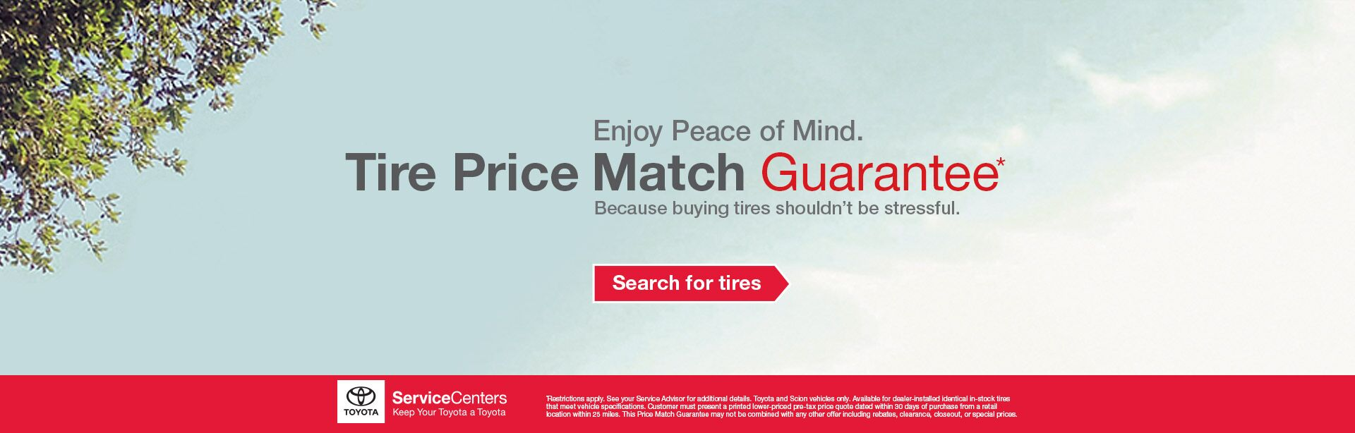 P&S Tire Price Match Guarantee