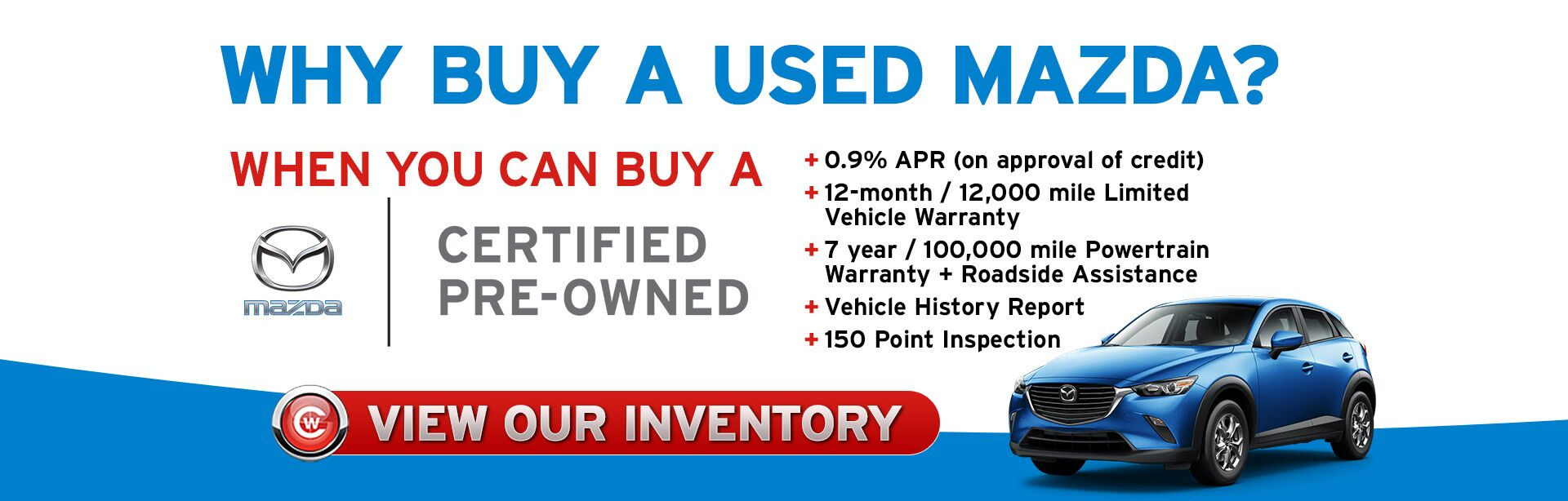 Why buy used mazda