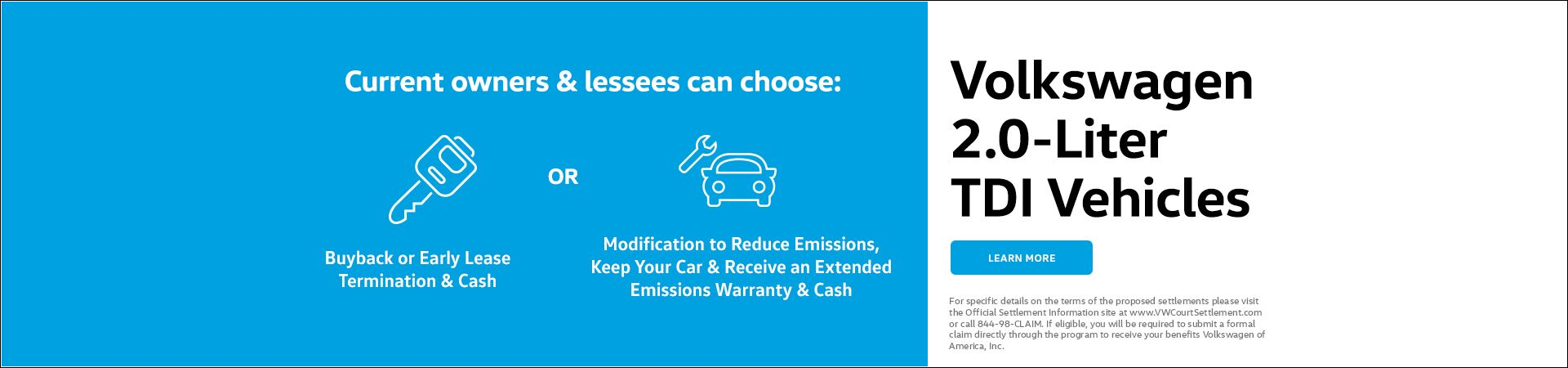Capo VW TDI Settlement Program