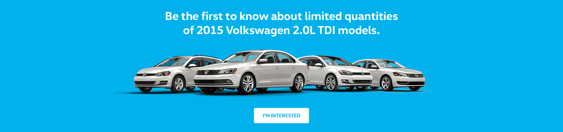 2015 VW TDI models