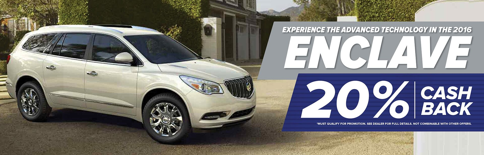 enclave 20 cash back