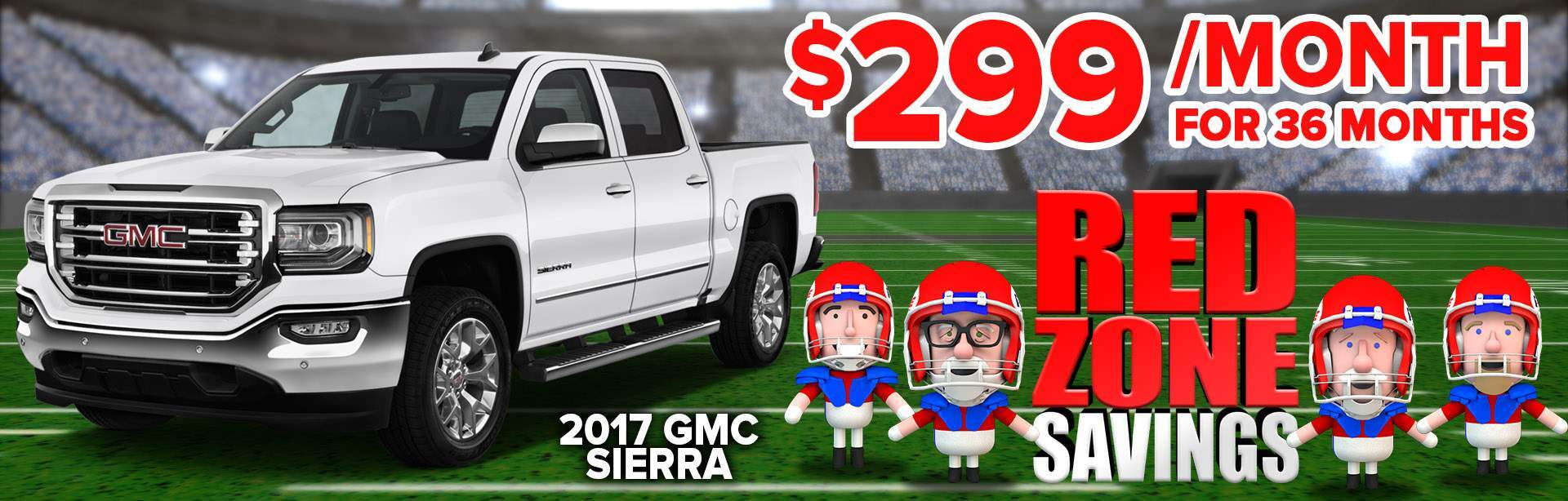 Red zone Savings GMC
