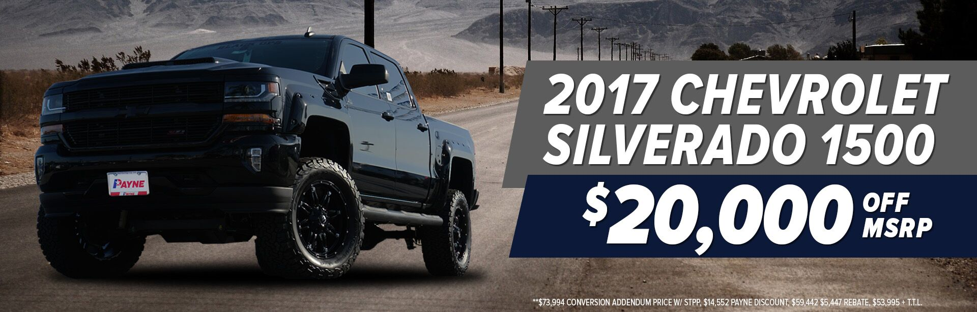 Commercial offers chevy silverado