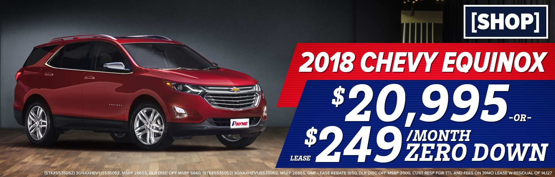 Chevy Equinox April 2018