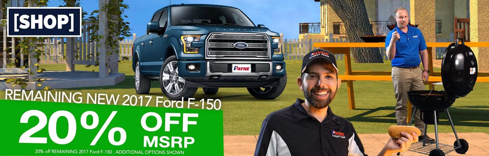 20% Off Ford F-150