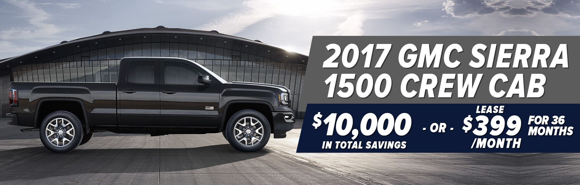 gmc sierra Commercial offers