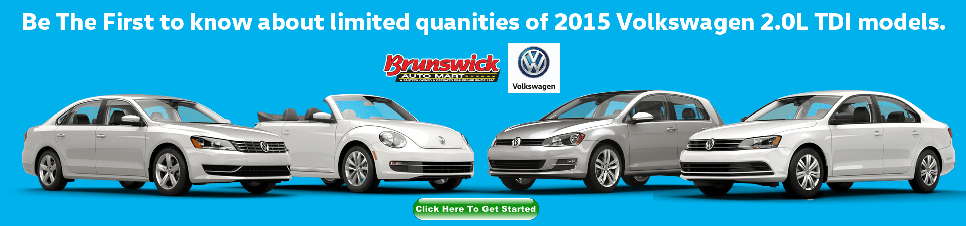 2015 VW TDI's for sale