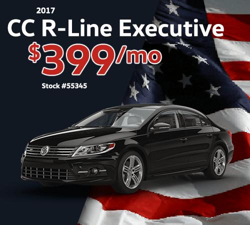 2017 Volkswagen CC R-Line 2.0T Executive