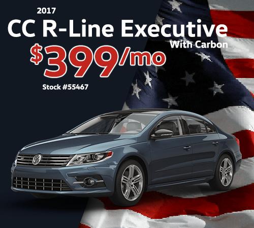 2017 Volkswagen CC R-Line 2.0T Executive w/Carbon