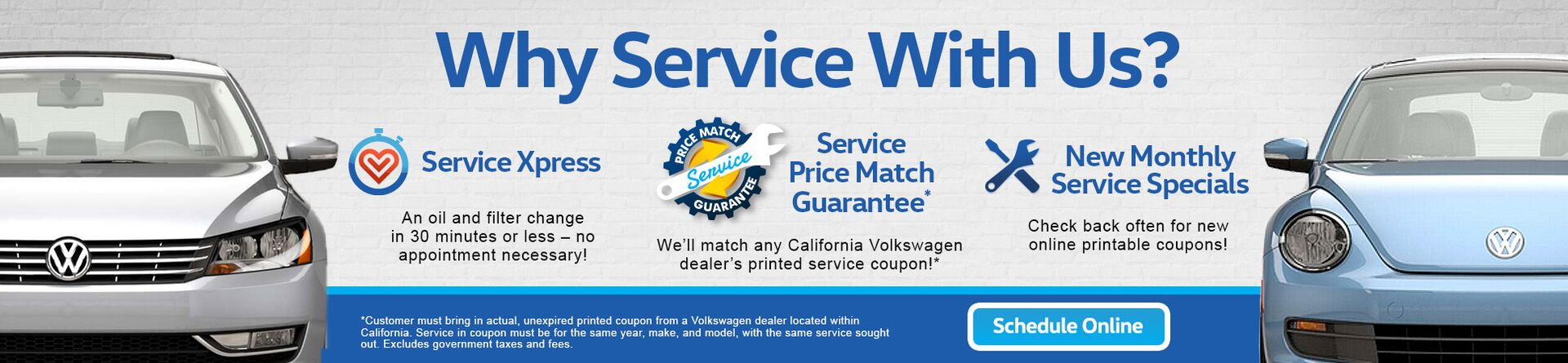Why Service with Norm Reeves Volkswagen?