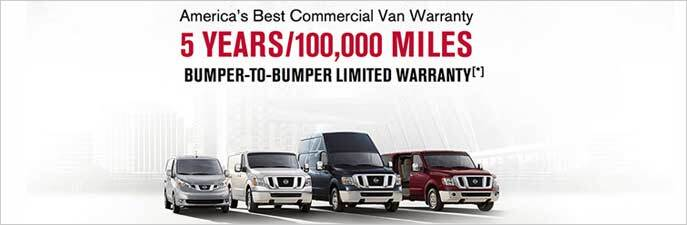 Arlington Nissan Commercial commercial vehicle warranty