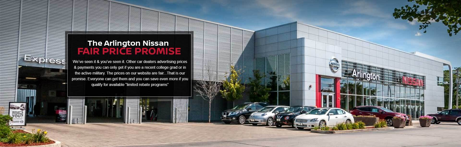 Arlington Nissan Commercial Fair Price Promise