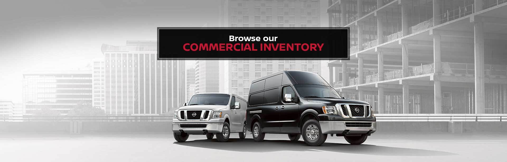 Commercial Inventory at Arlington Nissan Commercial