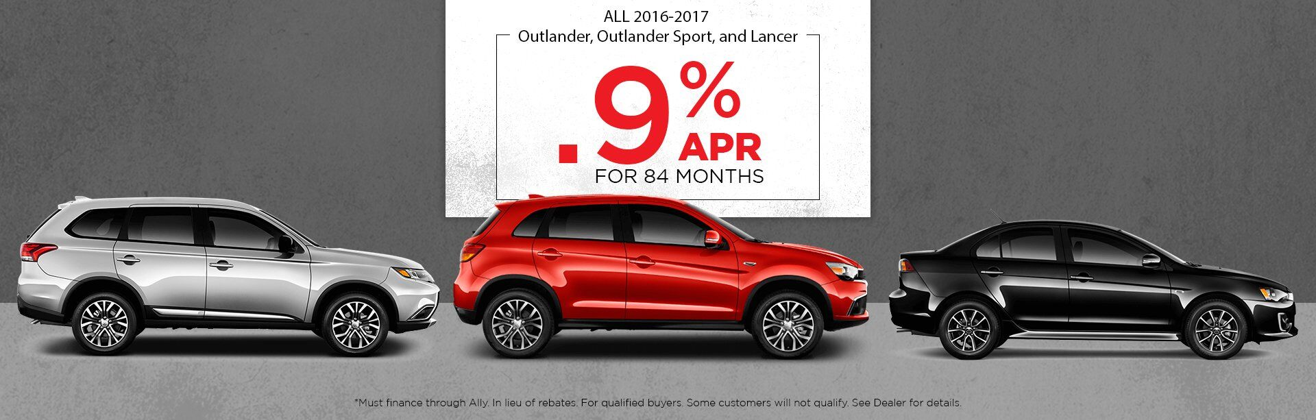 New Outlander, Outlander Sport, and Lancer