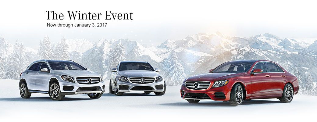 The 2016 Mercedes-Benz Winter Event
