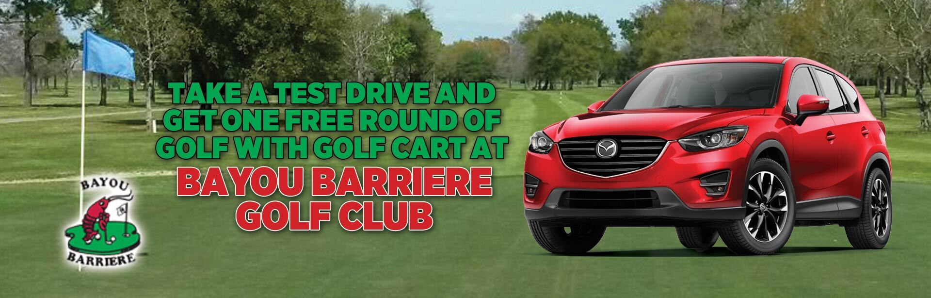 Bayou Barriere Golf Test Drive Offer