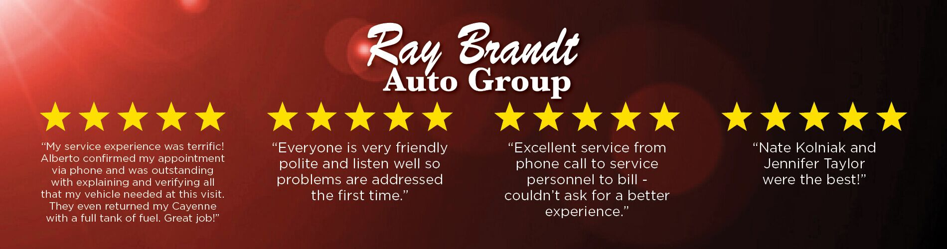 Ray Brandt Reviews