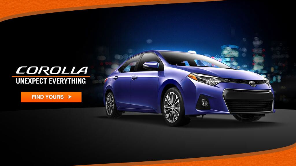 Corolla find yours