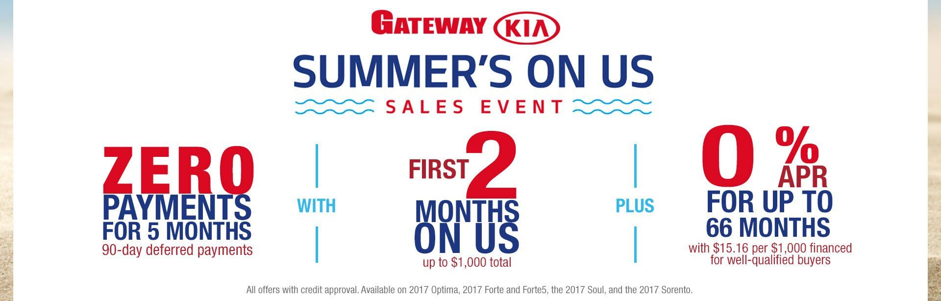 Kia Summer's On Us