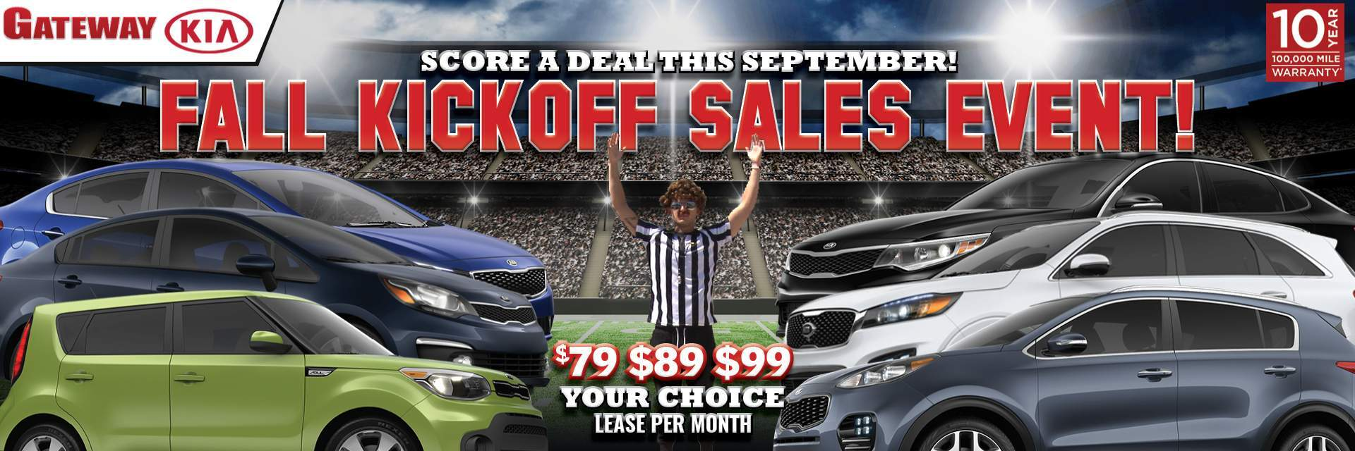 Fall Kickoff Sales Event
