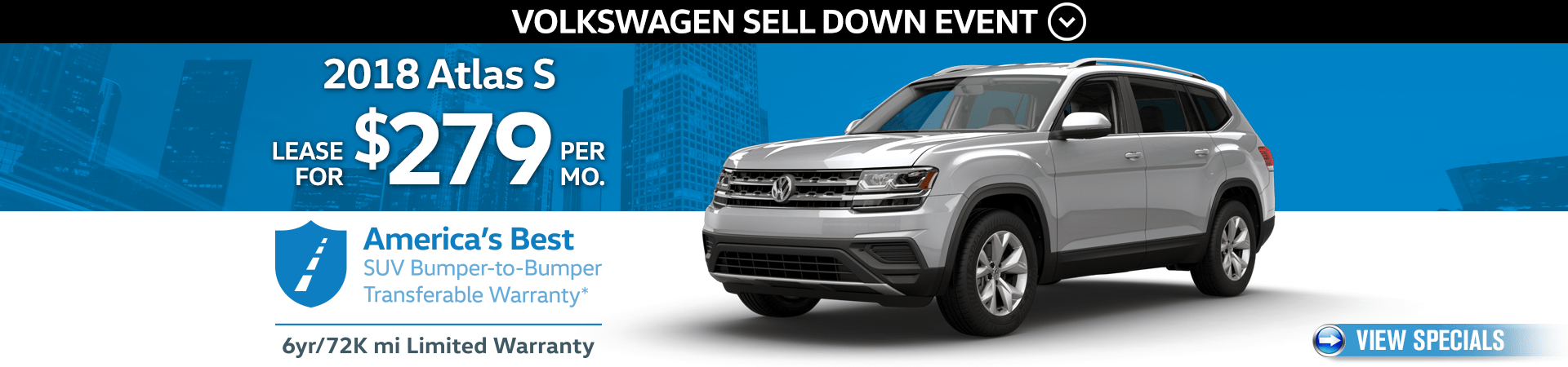 VW Sell Down Event - Atlas Offer