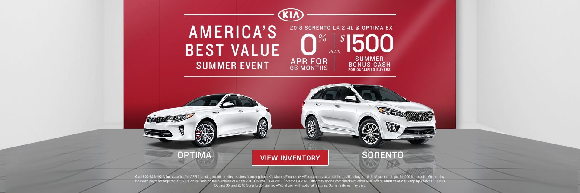 America's Best Value Summer Event at Kia of Norwood