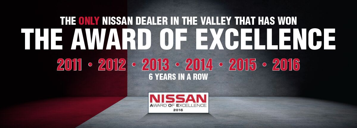 Nissan award of excellence
