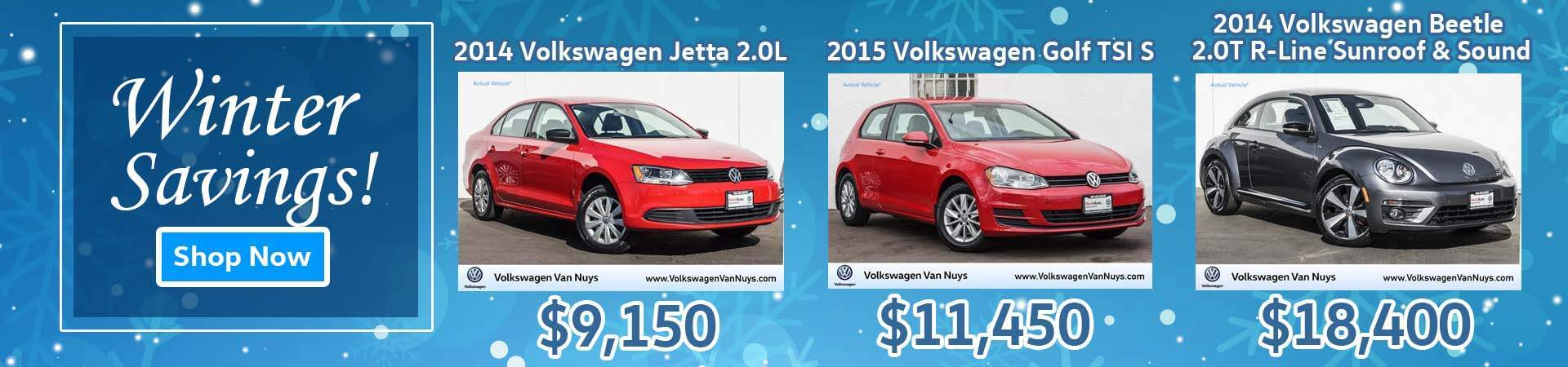 January Volkswagen Used Inventory