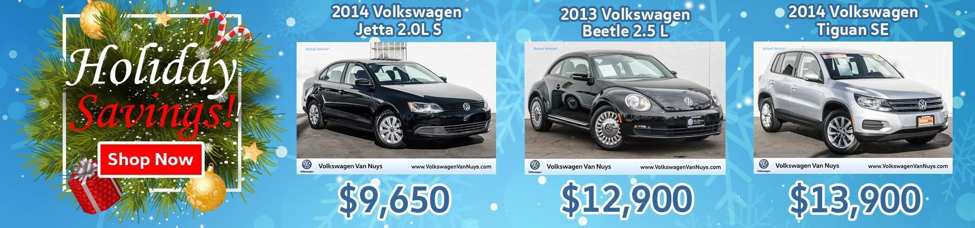 VW Holiday Savings 2