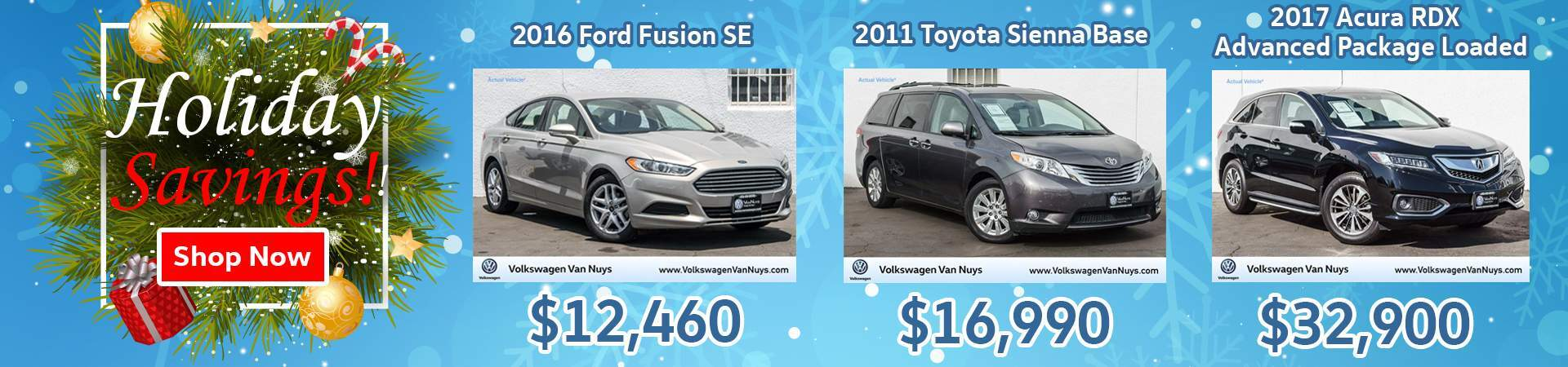 Used Inventory Holiday Specials