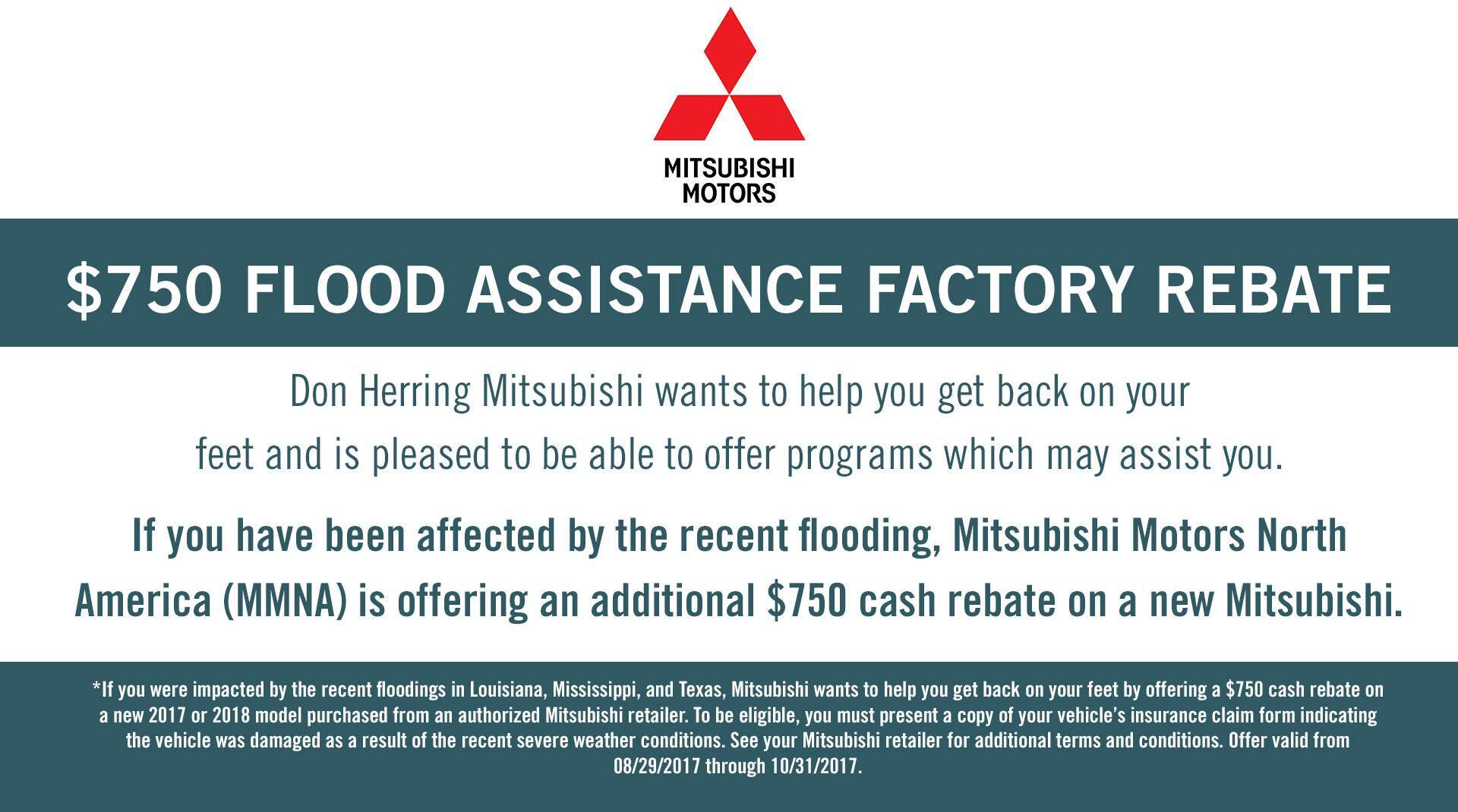 Flood Assistance Rebate
