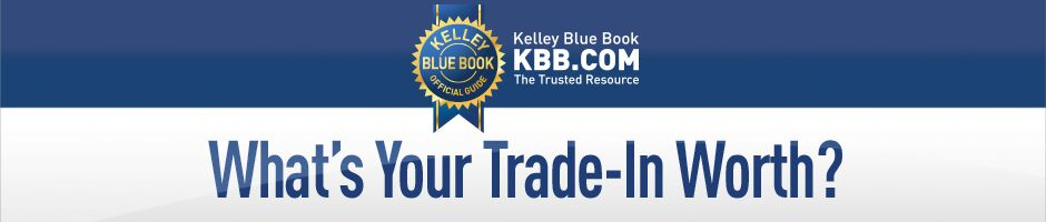 McNeill Nissan features Kelley Blue Book Trade-In Estimator