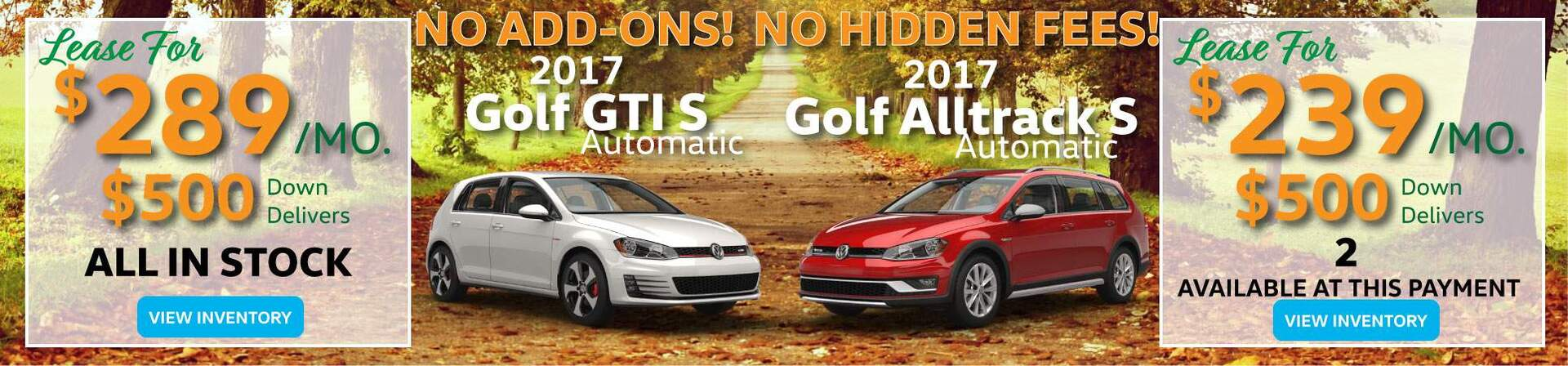 Golf GTI and Alltrack