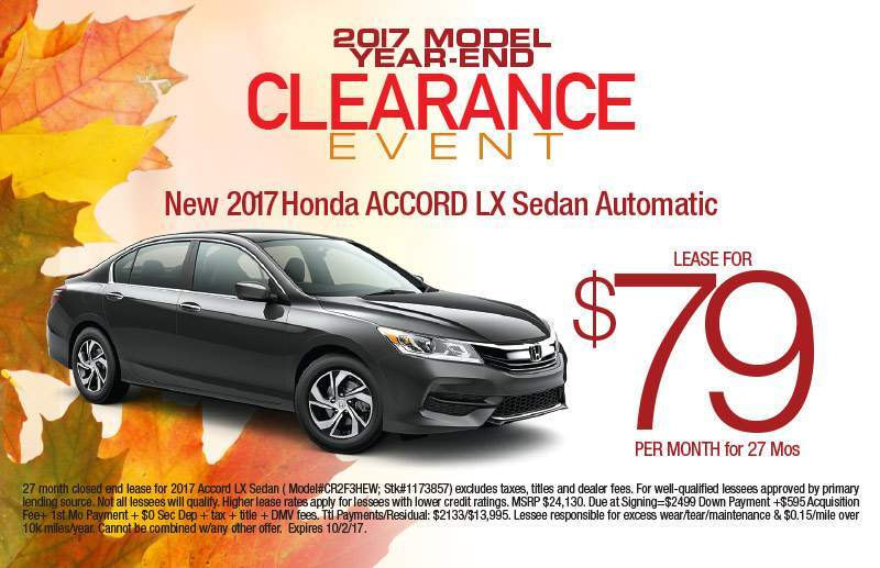 2017 Honda Accord Sedan 4DR LX CVT