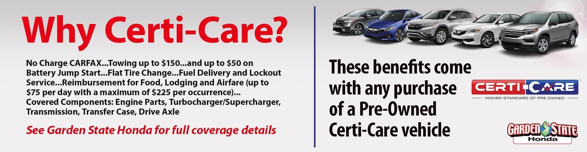 Why Certi-Care?