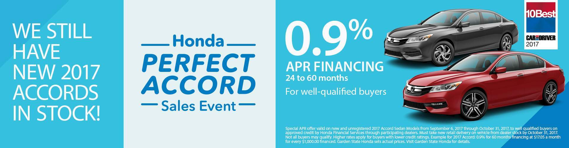 Perfect Accord Sales Event