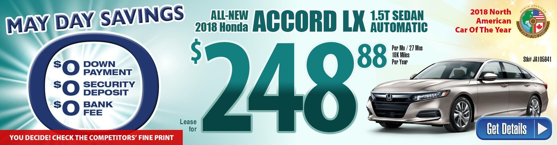 2018 Accord Spring Event