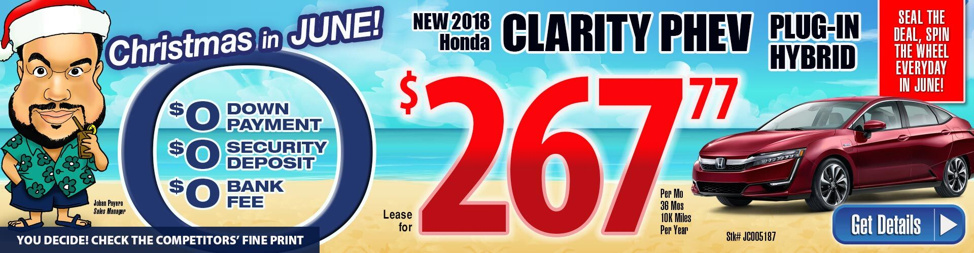 Honda Clarity Lease