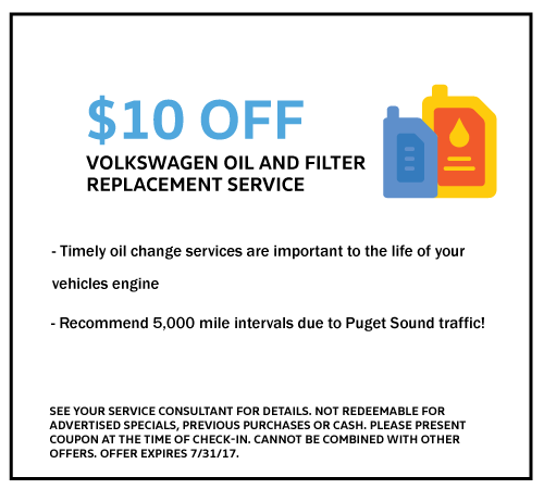 Volkswagen Oil and Filter...