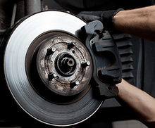 $25 Off Front or Rear Brake Pad Replacement - Honda