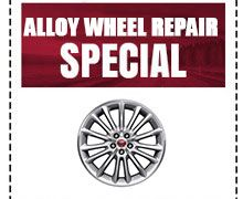 Alloy Wheel Repair Special